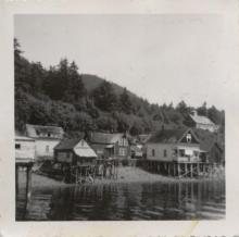 Hoonah Houses 1948