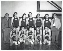 Hoonah ANB Basketball Team 1958