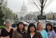 Hoonah Weavers Visit Washington, DC