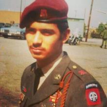 Robert Wolfe served in the U.S. Army, 82nd Airborne