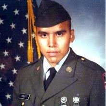 Wilbur Pratt served from 1984-1987 in the U.S. Army