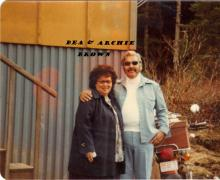 Bea and Archie Brown, Sr.