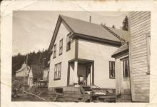 John and Lilly Fawcett's Home Before the Fire of 1944