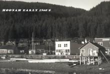 Front Street Hoonah Waterfront Early 1960s
