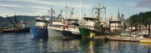 Hoonah Fishing Boats Inian Queen, Mary Joanne, Seagull and Donna Ann
