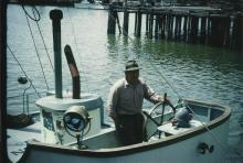 Harry Marvin, FV Yukon II, Bellingham Washington,July 1949