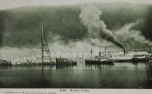 Hoonah Waterfront Postcard 1909