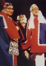 Ida Kadashan and Jenny Lindoff