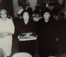 Frances Williams, Elsie Wilson and Goldie Moses