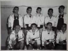 Historic Hoonah Men's Basketball Team Photo