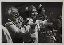 Mt. Fairweather Dancers: Esther Kaze, Katherine Grant, Mamie Williams, Harlena Warford