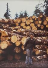 Dennis Gray, Sr. at Log Yard