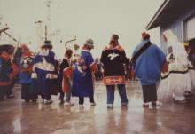 Dancing in Celebration of the First Log Ship to Hoonah