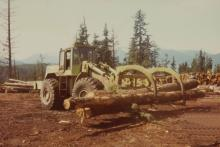 Tractor Loader with Grapple