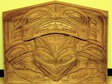 Auk Kwaan Panel Carved by David Williams