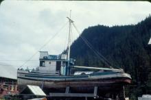 Urania II Built in Hoonah and Skippered by David Williams