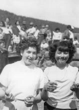 Pauline Hinchman & Marlene Johnson, 4th of July