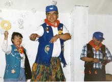 "James Jack Dances the Hula to ""Tiny Bubbles"""