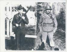 Ralph Knudson, Sr. (L) and James Knudson