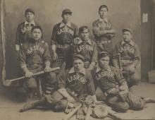 "Hoonah Baseball Team ""Alaskans"""