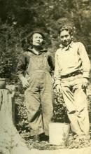 Jenny Malcolm and Charles Metz