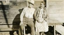 Charlie Bevans and Elsie Greenwald