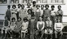 Territorial School Class Photo