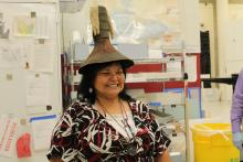 Harlena Warford in Hat